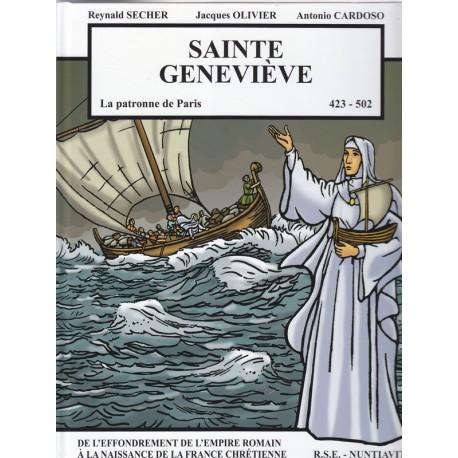 Sainte Geneviève. La patronne de Paris. 423 - 502