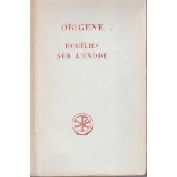 Origène. Homélies sur l'Exode