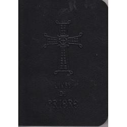 Livre de prière de poche couverture noir