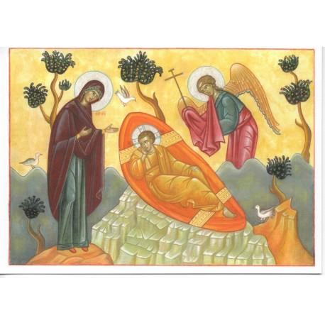 Carte de Noël. Christ Emmanuel (grand format)