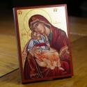 Icône de la Mère de Dieu 10 cm x 13 cm