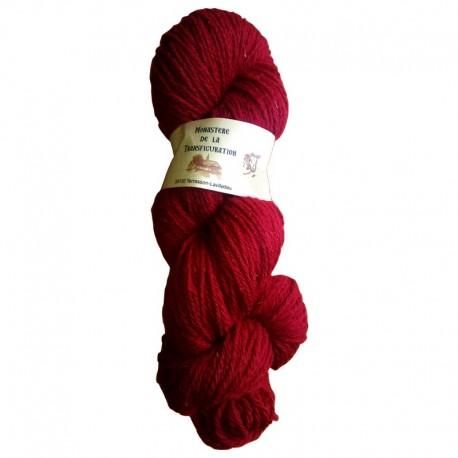 Echeveau 100% pure laine couleur rouge
