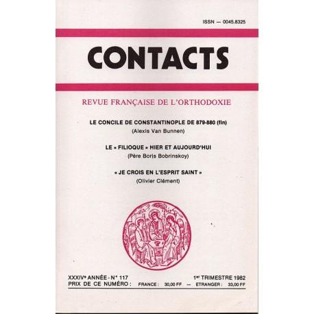 Contacts n° 117 - 1° trimestre 1982