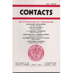 Contacts n° 122 - 2° trimestre 1983