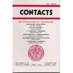 Contacts n° 122 - 2° trimestre 1983