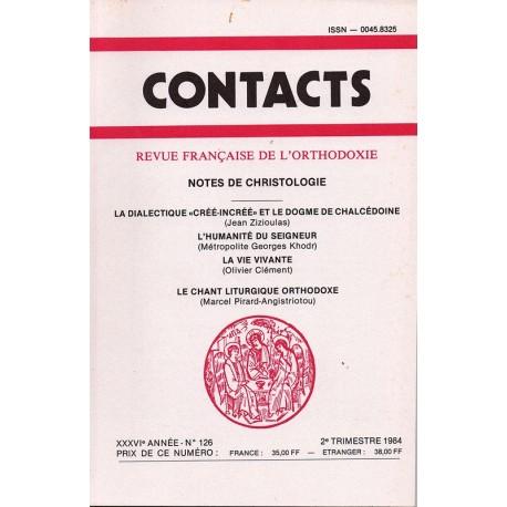 Contacts n° 126 - 2° trimestre 1984