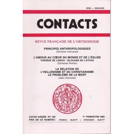 Contacts n° 129 - 1° trimestre 1985