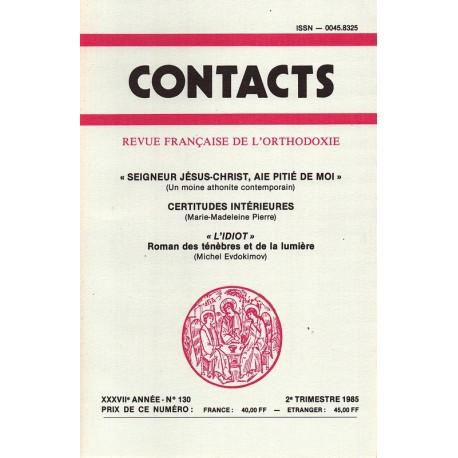 Contacts n° 130 - 2° trimestre 1985