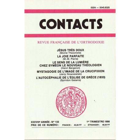Contacts n° 133 - 1° trimestre 1986