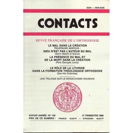 Contacts n° 135 - 3° trimestre 1986