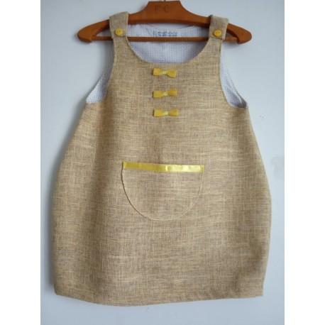 Robe Chasuble de l'Automne - 4 - 5 ans