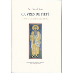 Oeuvres de piété - Saint Ephrem le Syrien.