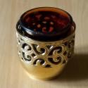 Veilleuse à huile en laiton