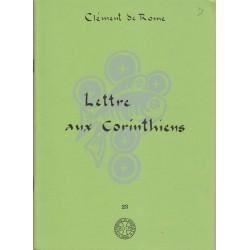 Lettre aux Corinthiens - Clément de Rome