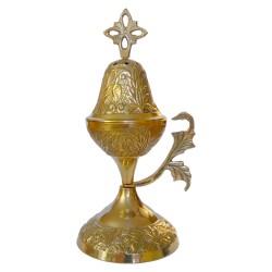 Encensoir métallique doré