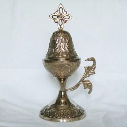 Encensoir métallique argenté