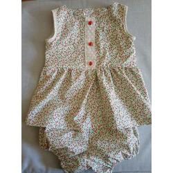 Bloomer assorti à la robe d'été 2 ans