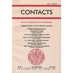 Contacts n° 197. 1° trimestre 2002