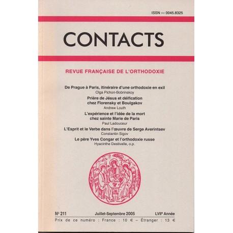 Contacts n° 211. 3° trimestre 2005