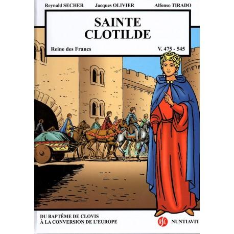 Sainte Clotilde Reine des Francs - V. 475 - 545