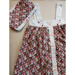 Robe aux petits boutons 3 ans