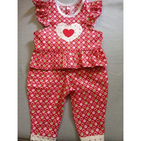 Ensemble Top et Pantalon Bébé 18 mois