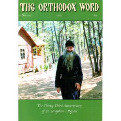 The Orthodox Word n° 305 Année 2015