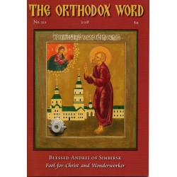 The Orthodox Word n° 321 Année 2018