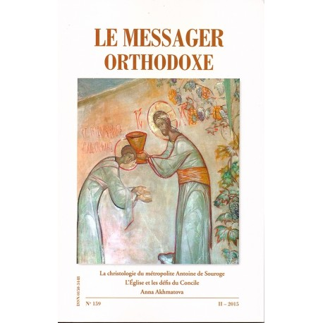 Le messager orthodoxe n° 159 Année 2015