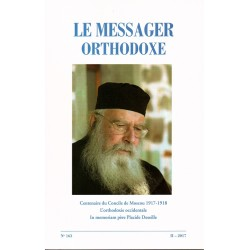 Le messager orthodoxe n° 163 Année 2017