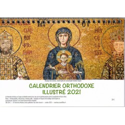 Calendrier orthodoxe illustré 2021