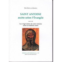 Saint Antoine ascète selon l'Evangile.