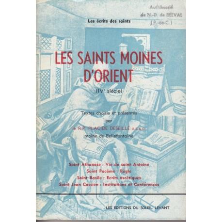 Les saints moines d'orient (IV° siècle)