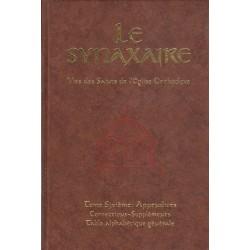 Le Synaxaire. Vie des saints de l'Eglise orthodoxe. Tome 6 : appendices corrections suppléments