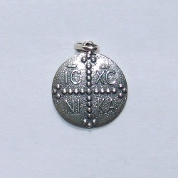 Croix ronde en argent n° 149