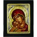 Icône de la Mère de Dieu rouge