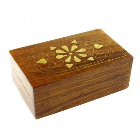 Coffret en bois taille moyenne
