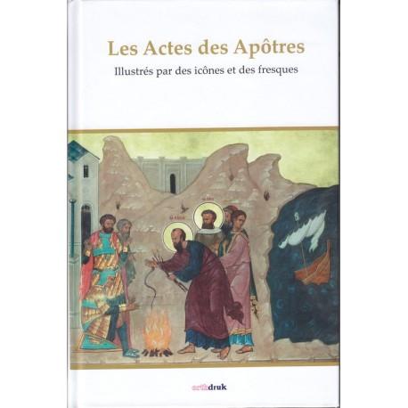 Les Actes des Apôtres illustrés par des icônes et des fresques