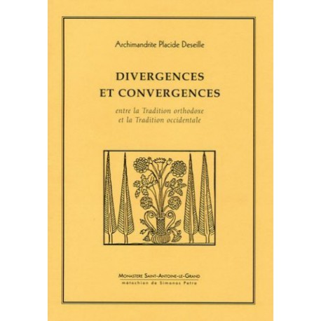 Divergences et convergences entre la tradition orthodoxe et la tradition occidentale.