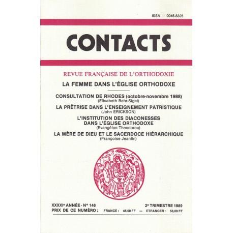 Contacts n° 146. 2° trimestre 1989