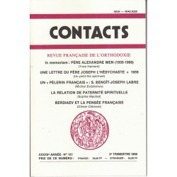 Contacts n° 151. 3° trimestre 1990