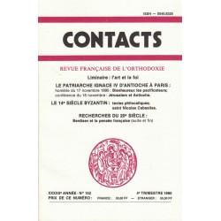 Contacts n° 152. 4° trimestre 1990