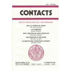 Contacts n° 154. 2° trimestre 1991