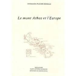 Le mont Athos et l'Europe.