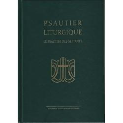 Psautier liturgique. Le psautier des septantes