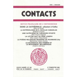 Contacts n° 162. 2° trimestre 1993