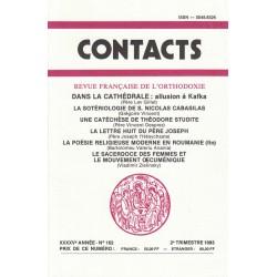 Contacts n° 162. 2° trimestre 1993