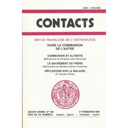 Contacts n° 166. 2° trimestre 1994