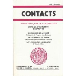 Contacts n° 166. 2° trimestre 1994