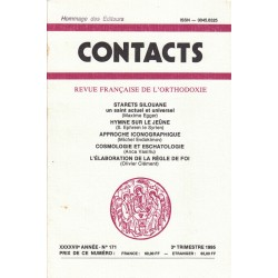 Contacts n° 171. 3° trimestre 1995